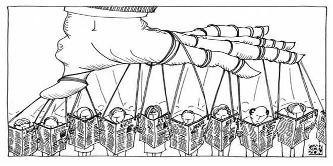 la manipulación de la prensa y las conclusiones precipitadas