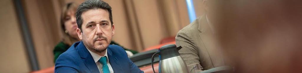 Victor Piriz Diputado del PP y portavoz de presupuestos.