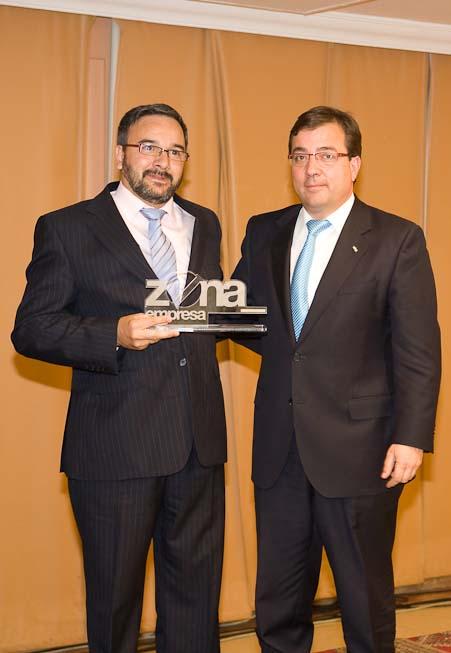 Marco Sánchez Becerra con Guillermo Fernandez Vara