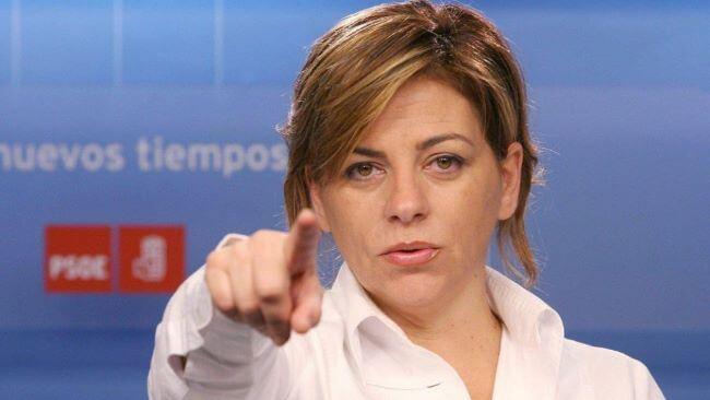 Elena Valenciano, del PSOE