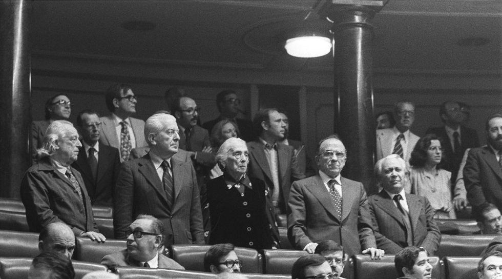 Comunistas en el Congreso Pasionaria Carrillo