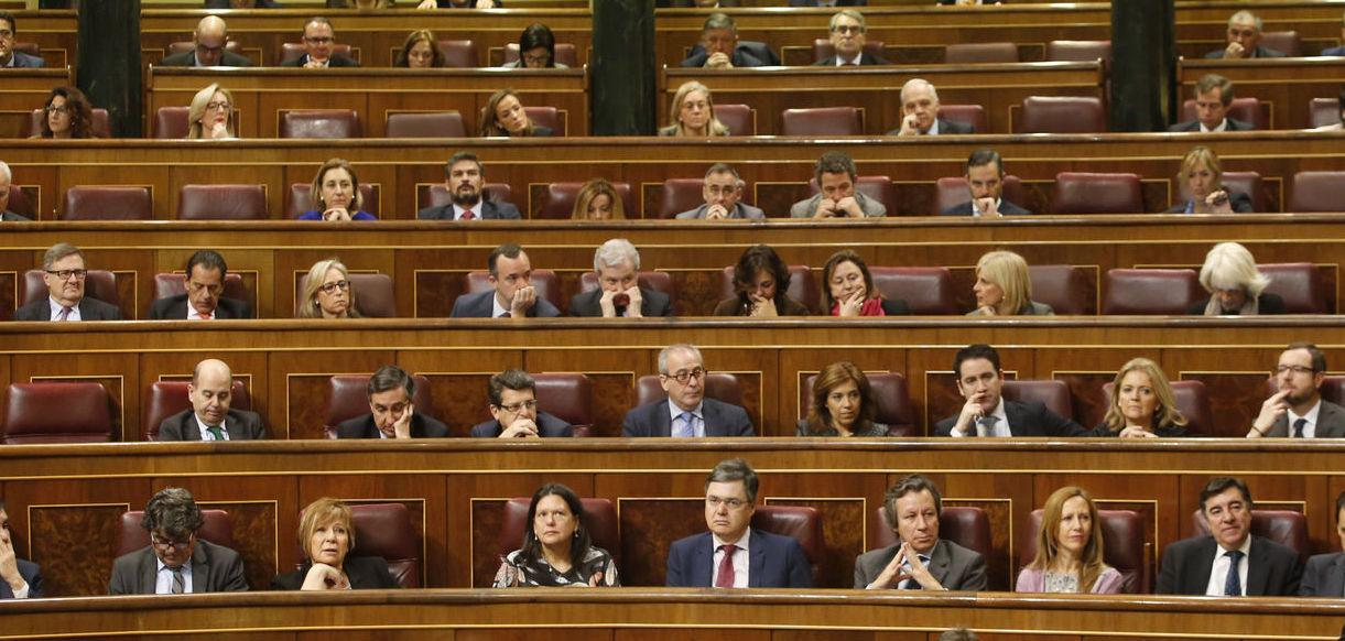 grupos políticos sin cohesión de sus miembros