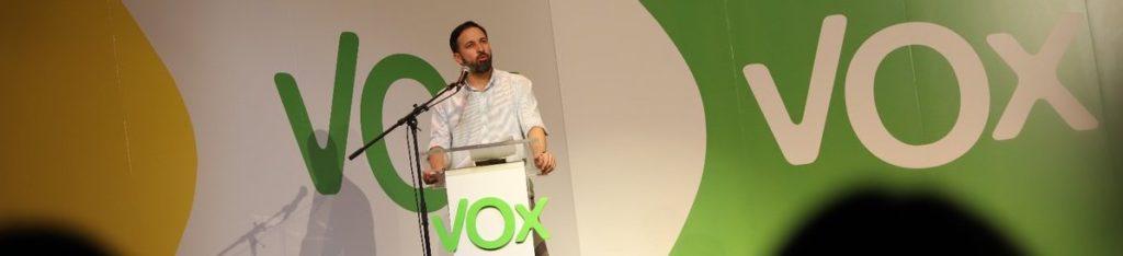 Los valores de VOX por Santiago Abascal