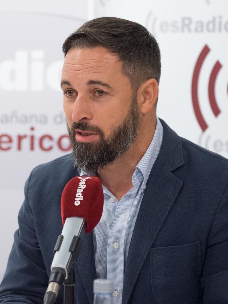 Santiago Abascal y los valores de VOX