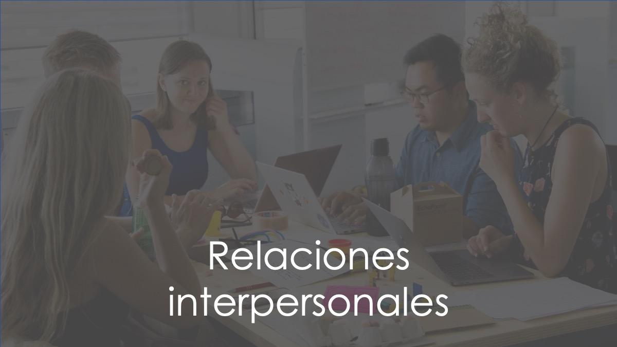 Relaciones interpersonales inteligencia emocional