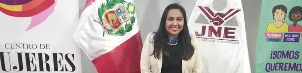 Nadia Ramos Mujeres politicas de Perú