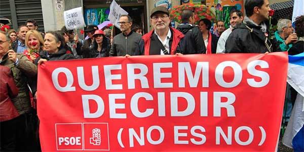 El no es no de Pedro Sánchez