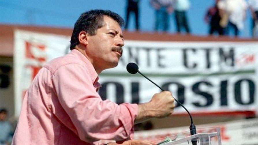 Luis Colosio, lider del PRI asesinado en 1994