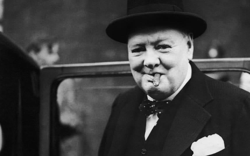 Winston Churchill y los Hombres de Estado