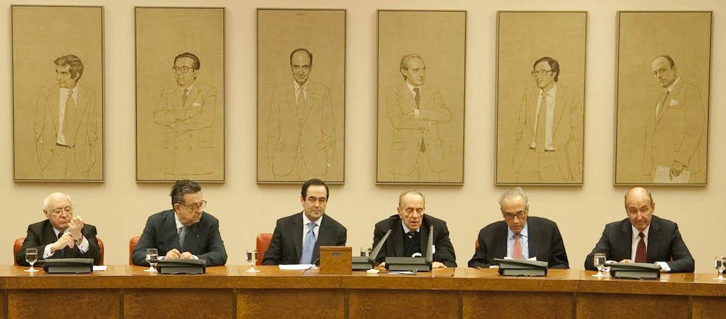 Los españoles de la constitución; padres de la constitución; Transición española;