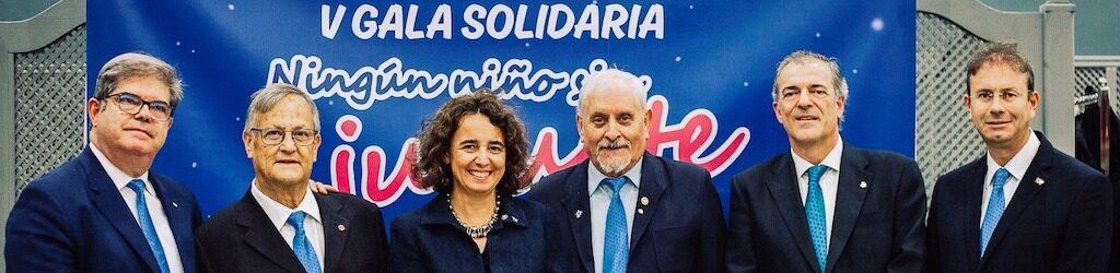 Ningún niño sin juguete Badajoz Rotary Juvenex Monty