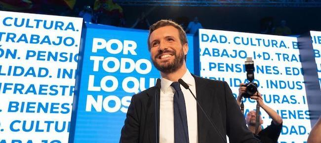 Pablo Casado como alternativa del Partido Popular