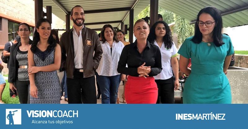 Mujeres y política de Nayib Bukele; El Salvador;