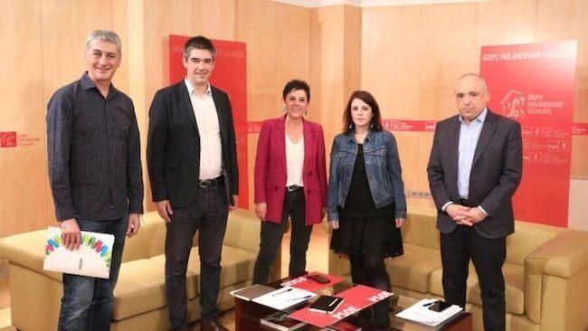 El @PSOE y @EHBildu negociando la investidura de Sánchez - Visioncoach