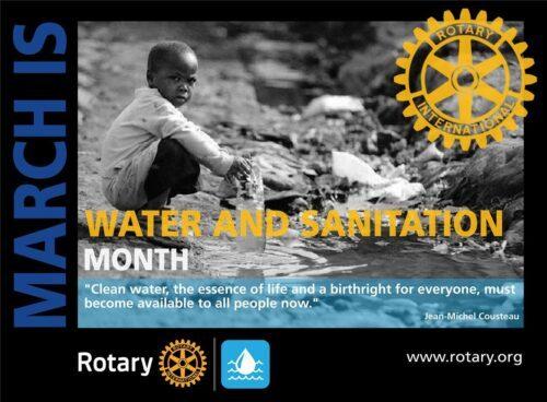 Rotary y el abastecimiento de agua