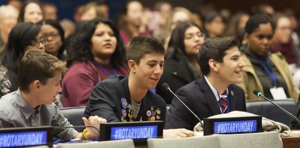 Rotary en la Organización de Naciones Unidas