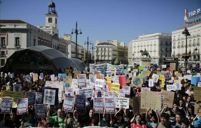 Indignados y el movimiento 15 M en Madrid