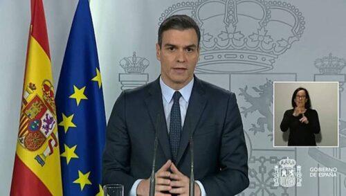Pedro Sánchez y el covid-19