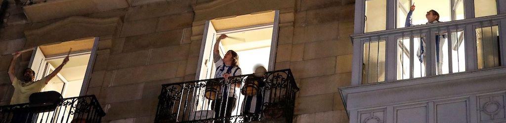 La España confinada, pero atenta, por Piluca Gomez de Tejada