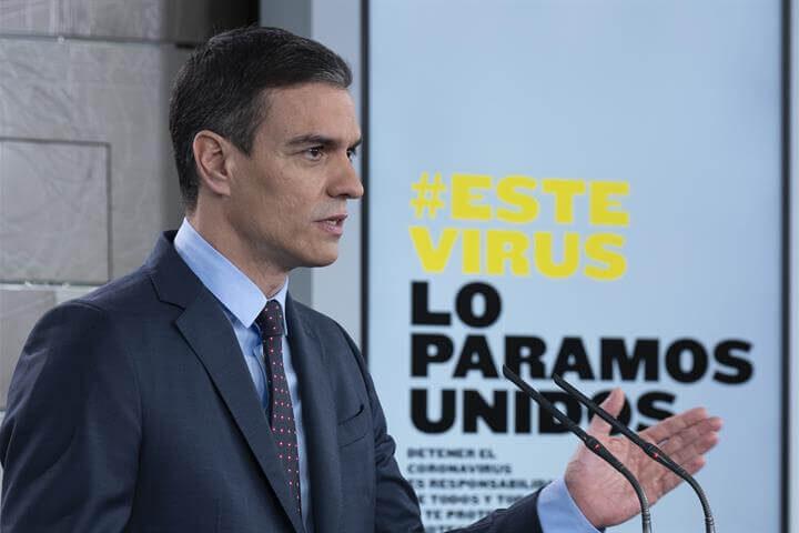 Rueda de prensa de Sánchez por el Coronavirus