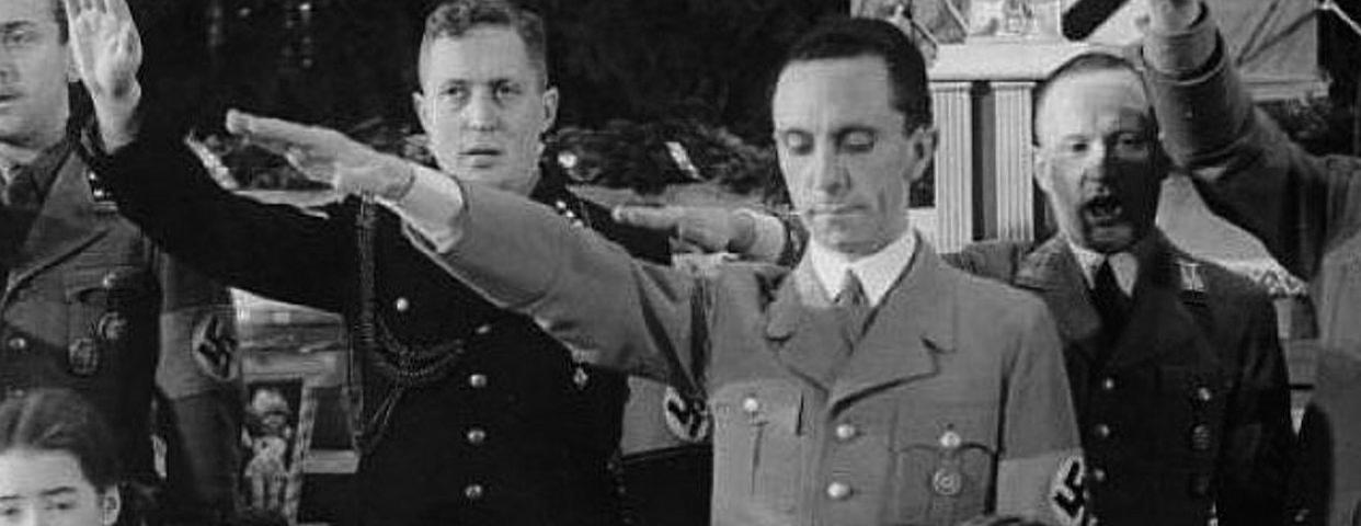 Goebbels que castigan a los que opinan distinto