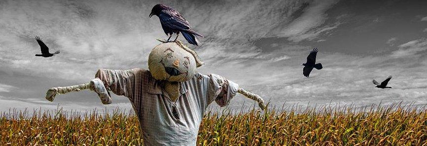 Los espantapájaros, por Carmen Heras