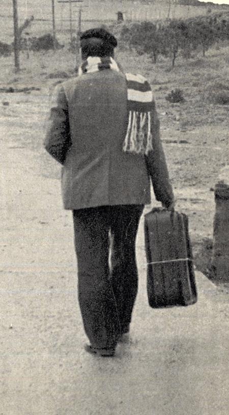 La migración de los extremeños a Cataluña y País Vasco en los sesenta.
