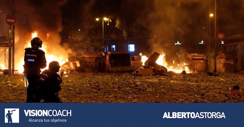 Complicada situación en Cataluña, por Carmen Heras