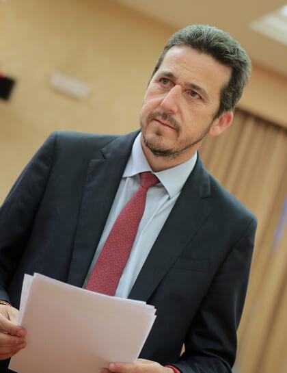 Víctor Píriz, Diputado al Congreso por Badajoz y portavoz de presupuestos del Grupo Parlamentario Popular