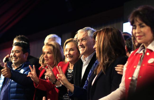 Presentación de candidatos de los partidos