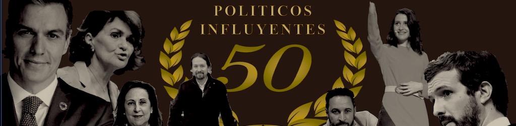 Los políticos con mas influencia de España; Visioncoach