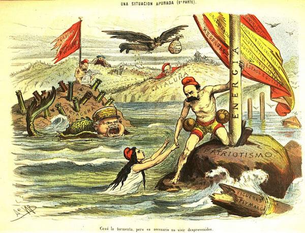 El naufragio de la primera república; Damián Beneyto