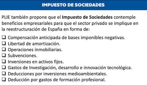 Proyecto Liberal Español; Francisco Fernández Ochoa; PLIE