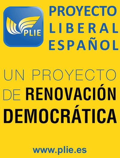 Logo Proyecto Liberal Español; PLIE