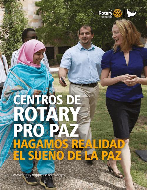 Rotary Becas pro paz en el mundo; Alberto Astorga;