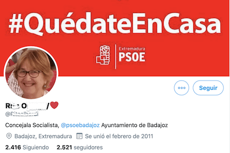 El tuit miserable de Rita Ortega