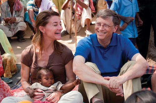 Bill y Melinda Gates Foundation End Polio Now