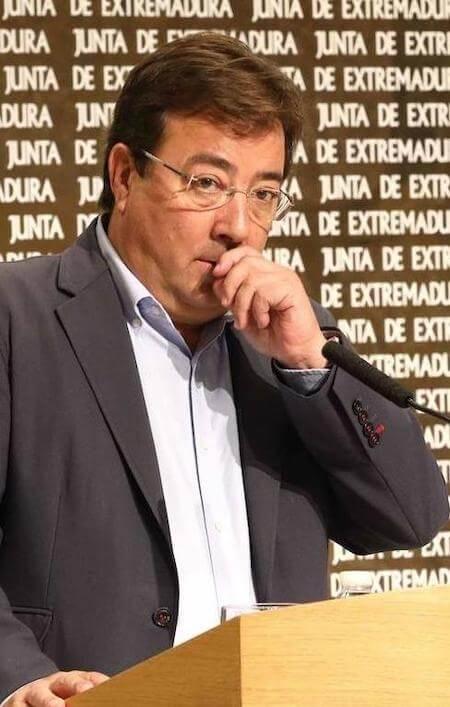 Guillermo Fernández Vara, presidente de Extremadura y 'buenista', por Damián Beneyto