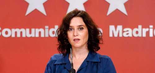 Isabel Diaz Ayuso, Presidenta de la Comunidad de Madrid