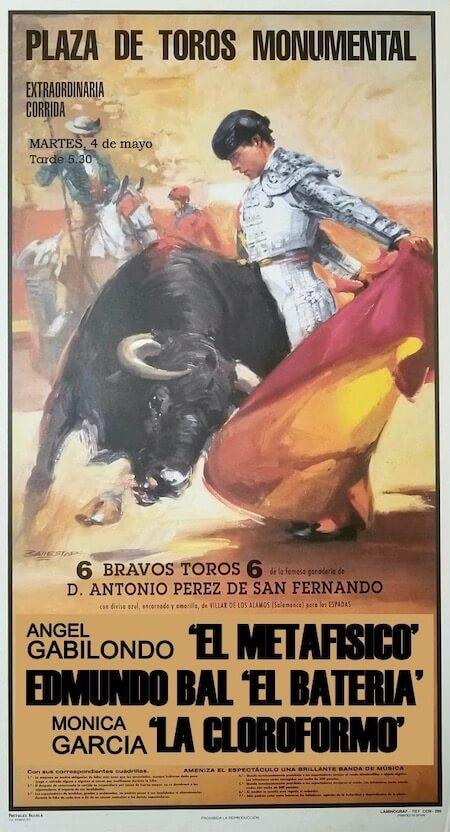 El 4 de mayo, corrida en Madrid, primeros espadas