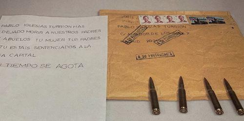 Las supuestas amenazas a Pablo Iglesias; por Damián Beneyto