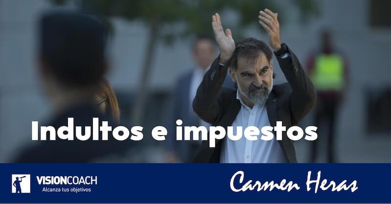 Indultos e impuestos, Carmen Heras