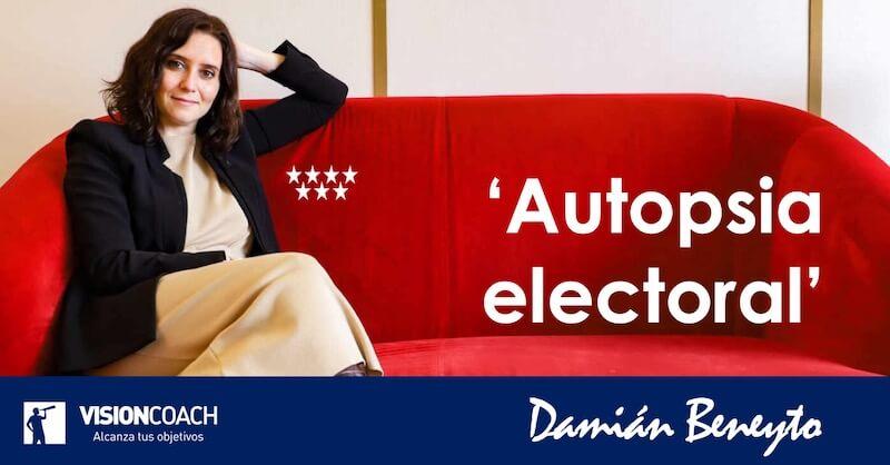 Autopsia electoral de los resultados del 4M en la Comunidad de Madrid; por Damián Beneyto;