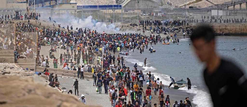 Crisis fronteriza en Ceuta