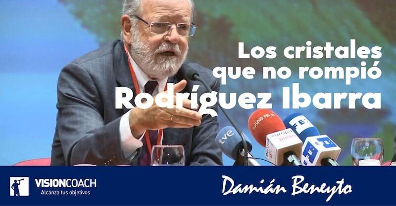 Rodríguez Ibarra; los cristales que no rompió, por Damián Beneyto