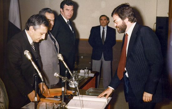 Investidura de Rodriguez Ibarra como Presidente de la Junta de Extremadura