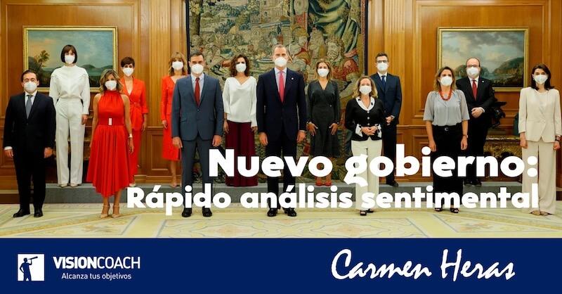 Nuevo gobierno, análisis sentimental, por Carmen Heras