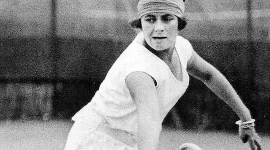 Lili Alvarez tenista española medalla de oro en juegos olímpicos de Amberes
