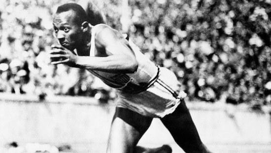 Jesse Owens, vencedor indiscutible de los juegos de Alemania 1936
