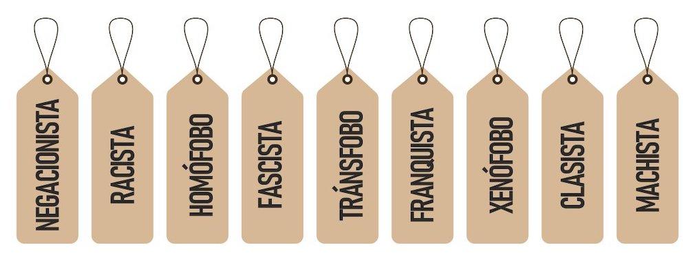 Las etiquetas del pensamiento único